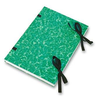 Obrázek produktu Desky s tkanicí  HIT Office - A4, zelené