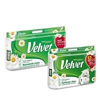 Toaletní papír Velvet Camomile