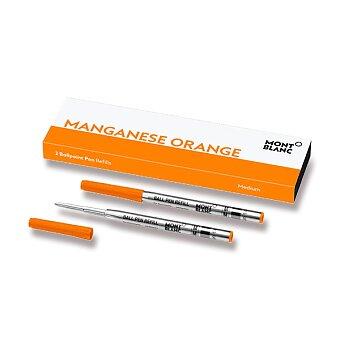 Obrázek produktu Náplň Montblanc do kuličkové tužky - M, 2 ks, orange