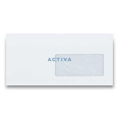 Obrázek produktu Clairefontaine - obálka - DL s okénkem 50 mikronů, samolepicí, bílá, 90 g/m2