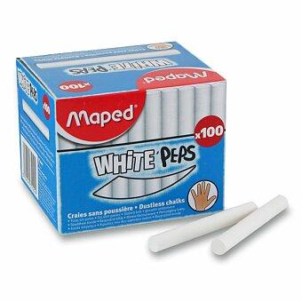 Obrázek produktu Křídy Maped - bílé, 100 kusů