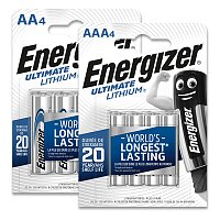 Lithiové baterie Energizer Ultimate Lithium