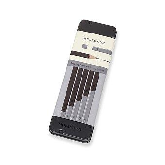 Obrázek produktu Grafitové tužky Moleskine - kovový box - 5 tvrdostí