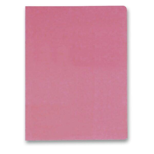 3chlopňové desky Hit Office růžové