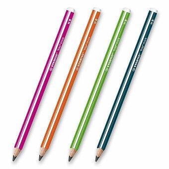 Obrázek produktu Tužka Stabilo Trio Thick - trvrdost HB (číslo 2), výběr barev