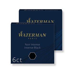 Inkoustové bombičky Waterman krátké, 6 ks