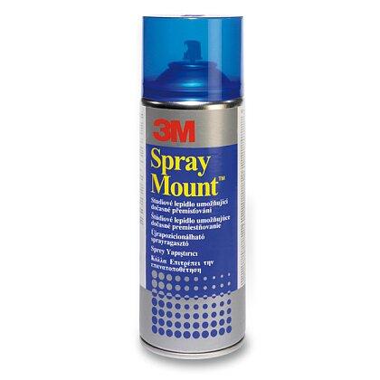 Obrázek produktu 3M Spray Mount - lepidlo ve spreji - univerzální, 400 ml