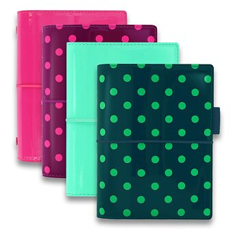 Obrázek produktu Kapesní diář Filofax Domino Patent A7 - ledově zelený