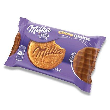 Obrázek produktu Milka Choco Grains - sušenky - s mléčnou čokoládou, 42 g