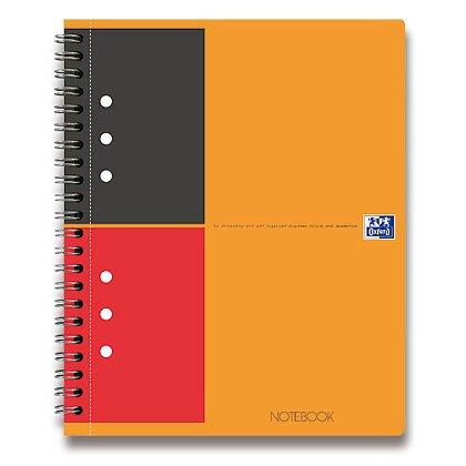 Obrázek produktu Oxford Notebook - kroužková záznamní kniha - A4+, 80 l., linkovaná