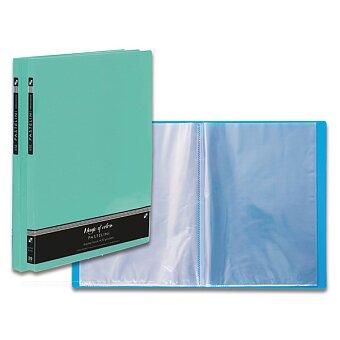 Obrázek produktu Katalogová kniha PP Karton Pastelini - A4, 20 fólií, výběr barev