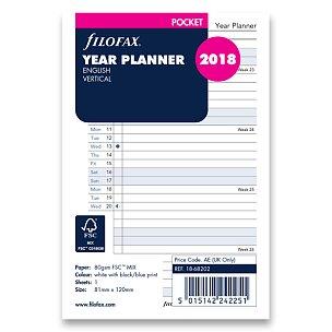 Plánovací kalendář 2018, Aj
