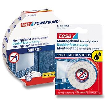 Obrázek produktu Oboustranná lepící páska Tesa Montagetape do vlhkého prostředí - šíře 19 mm, výběr balení