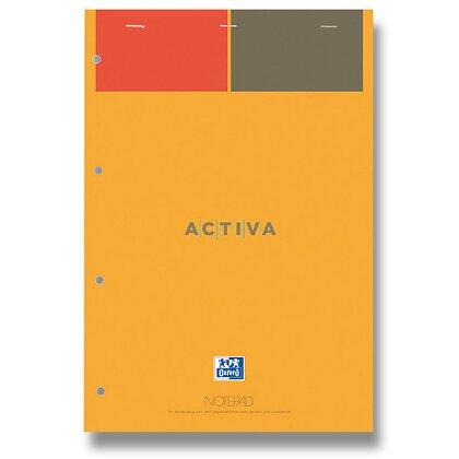 Obrázok produktu Oxford Notepad - šitý blok - A4, 80 l., linajkový