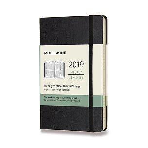 Diář Moleskine 2019 - tvrdé desky