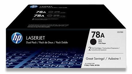 Obrázek produktu Toner HP CE278AD dual pack pro laserové tiskárny - 2 x CE278A