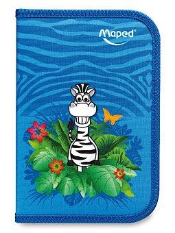 Obrázek produktu Penál Maped Tatoo - 1patrový, vybavený, motiv Jungle