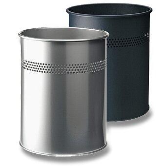 Obrázek produktu Kovový odpadkový koš Durable - stříbrný