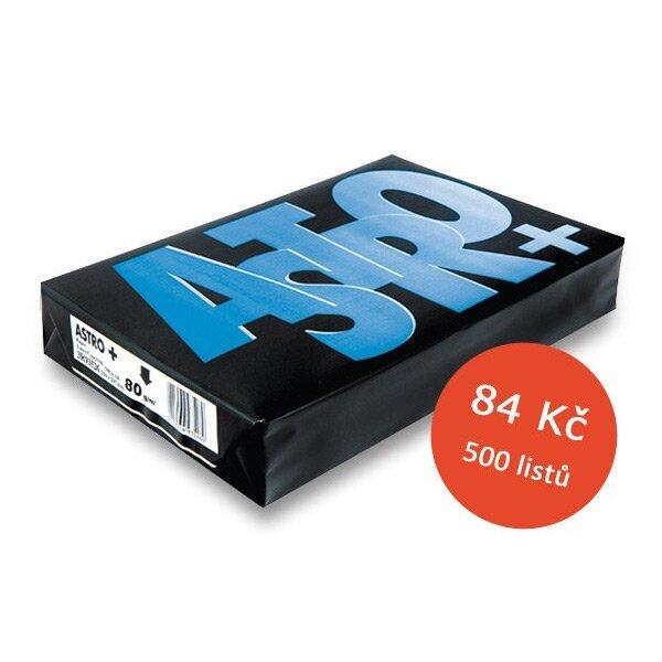 Kancelářský papír Astro+ A4, 80 g, 5 x 500 listů
