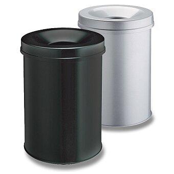 Obrázek produktu Ocelový odpadkový koš s víkem Durable - 31 l, výběr barev
