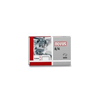 Obrázek produktu Drátky do sešívaček Novus 8/4 - 1000 ks, na 15 listů