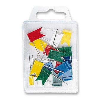 Obrázek produktu Zapichovací vlaječky WeDo - 20 ks, mix barev