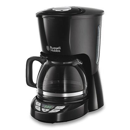 Obrázek produktu Russell Hobbs Textures Plus - kávovar - černý, 1,25 l