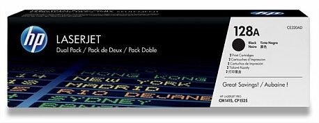 Obrázek produktu Toner HP CE320AD dual pack pro laserové tiskárny - 2 x CE320A
