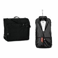 OMAR BAG - polyesterový vak na šaty, 600D, černá