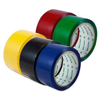 Obrázek produktu Barevná balící páska Reas Pack - 48 mm x 66 m, výběr barev