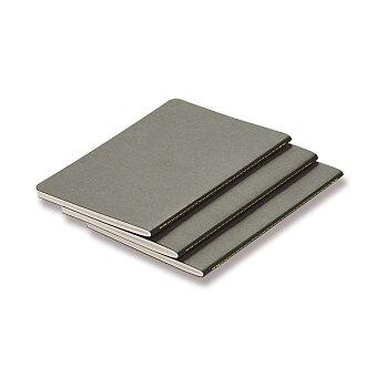 Obrázek produktu Sešity LAMY B5 - měkké desky - A5, linkované, 3 ks, grey
