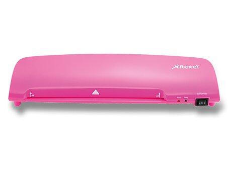 Obrázek produktu Laminátor Rexel Joy - A4, růžový