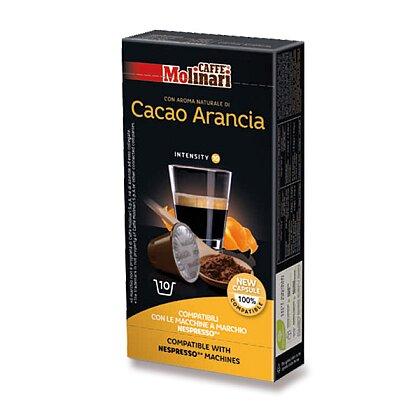 Obrázek produktu Caffe Molinari - kávové kapsle - Cacao Arancia, 10 ks