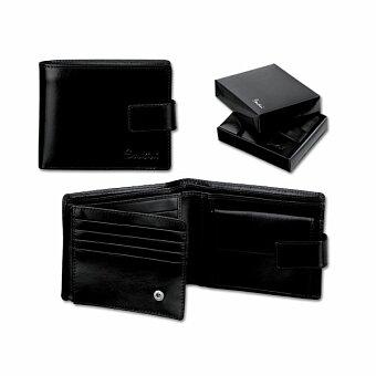 Obrázek produktu SANTINI GASPARO - kožená pánská peněženka, černá