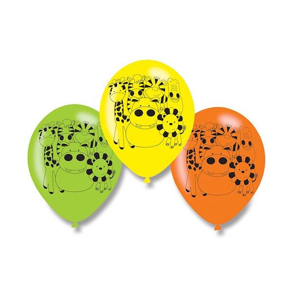 Nafukovací balónky Jungle 6 ks