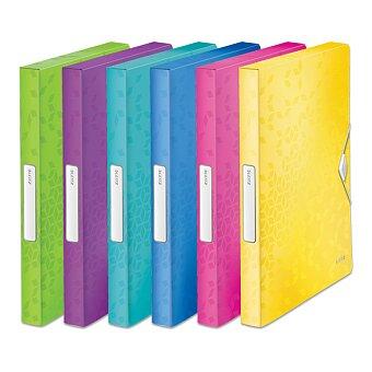 Obrázek produktu Box na dokumenty Leitz Wow - A4, hřbet 30 mm, výběr barev