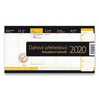 Stolní kalendář Daňový přehledový kalendář 2020