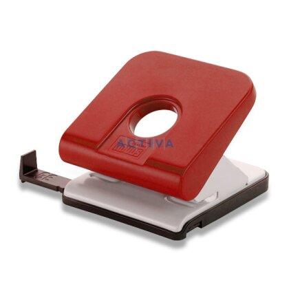 Obrázek produktu Novus Master - děrovačka - na 25 listů, červená