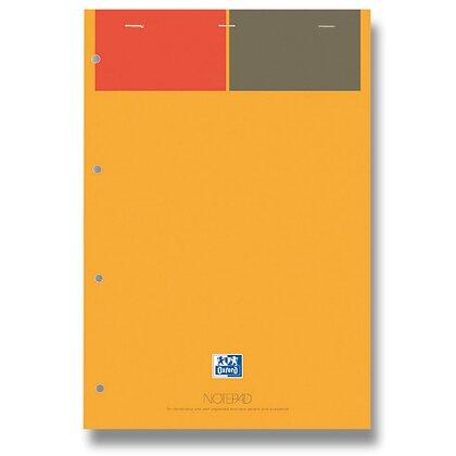 Obrázek produktu Oxford Notepad - šitý blok - A4, 80 l., linkovaný, žlutý papír