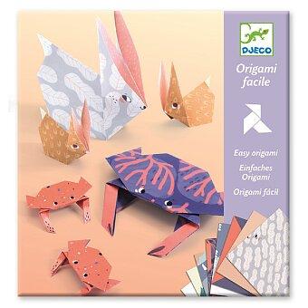 Obrázek produktu Origami sada Djeco - Zvířecí rodinky