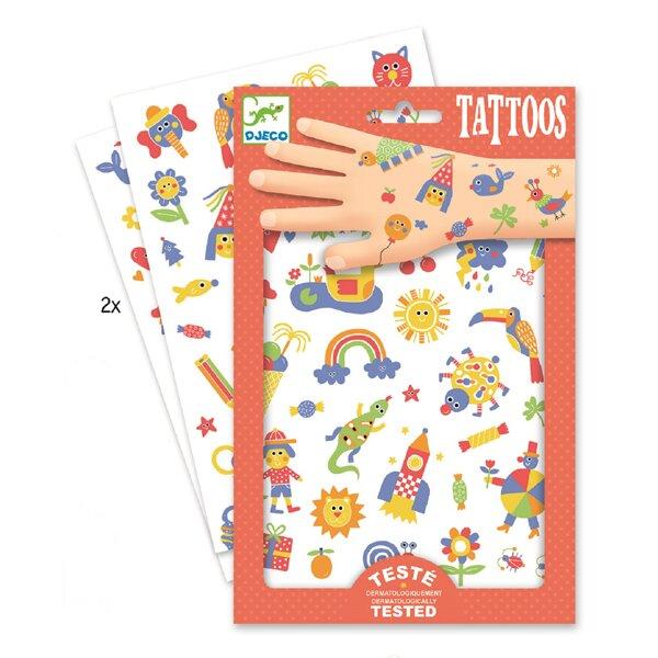 Tetování Djeco Duhový svět Djeco