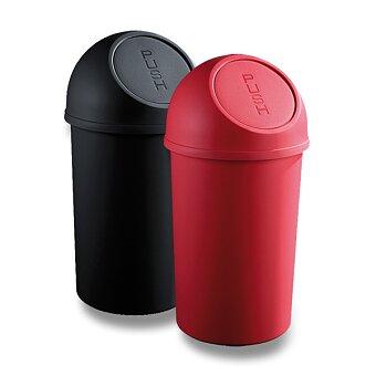 Obrázek produktu Plastový koš s víkem Helit - 6 l, výběr barev