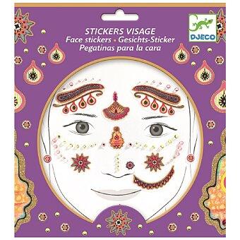 Obrázek produktu Samolepky na obličej Djeco - Indiánská princezna