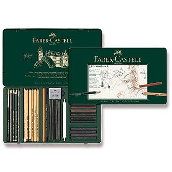 Obrázek produktu Grafitové tužky Faber-Castell Pitt Monochrome - sada 33 ks