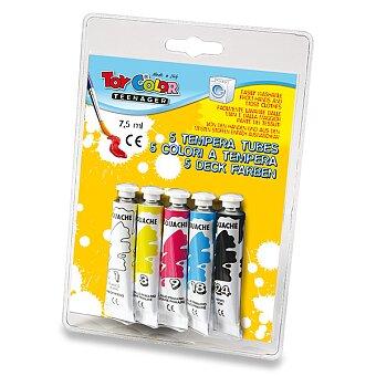 Obrázek produktu Temperové barvy Toy Color - 5 barev, tuba 7,5 ml