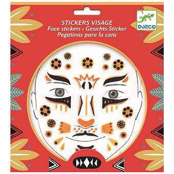 Obrázek produktu Samolepky na obličej Djeco - Leopard