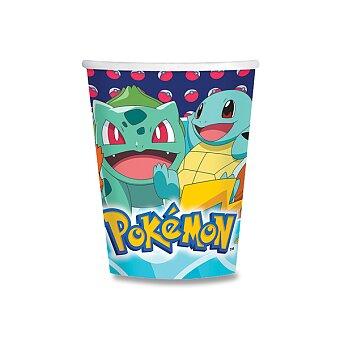 Obrázek produktu Papírové kelímky Pokémon - objem 0,25 l, 8 ks