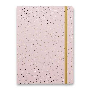 Zápisník Filofax Notebook Confetti A5 Rose Quartz
