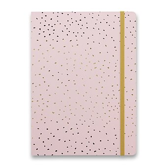 Obrázek produktu Zápisník Filofax Notebook Confetti A5 Rose Quartz