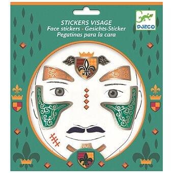 Obrázek produktu Samolepky na obličej Djeco - Rytíř